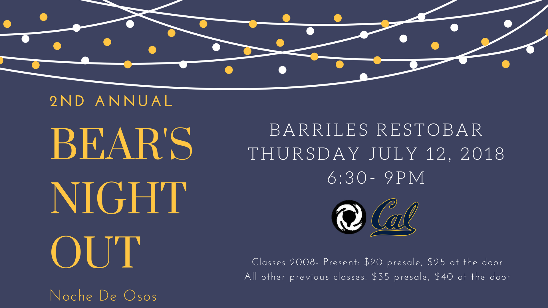 2018 Bear's Night Out 2